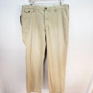 Ralph Lauren (Purposely) Worn Look Khakis 36x30